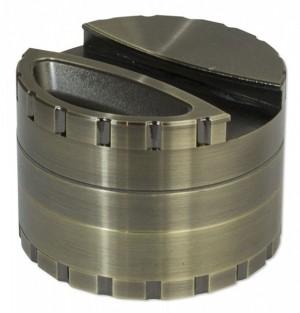 Pollen-Grinder Rotor-Mahlwerk 80mm 4tlg.