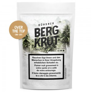 Bergkrut Over the Top CBD Hanfblüten Tabakersatz