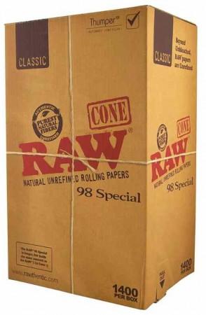 Raw Cones 98 Special 1400 Stk.