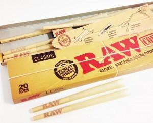 Raw Cones Lean 20 Stk.