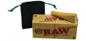 Raw Double Barrel Zigarettenhalter King Size