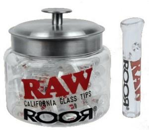 Raw ROOR Regular Glass Tips