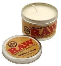 Raw Terpen Kerze