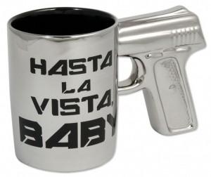 "Revolver-Tasse ""Hasta la Vista Baby"""