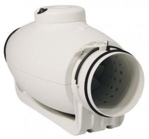 S & P Schallgedämmter Rohrventilator TD350-125 Silent