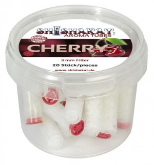 Shishakat Aroma Tubes Filter Cherry 9mm 20x