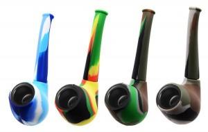 Silikon-Tabakpfeife Multicolour