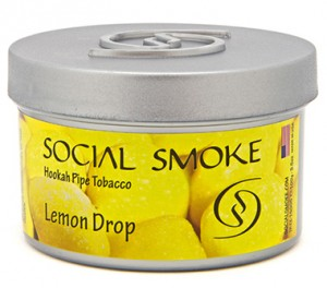 Social Smoke Lemon Drop 100g