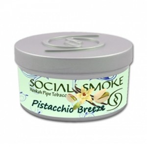 Social Smoke Pistachio Breeze