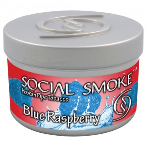 Social Smoke Blue Raspberry 250g