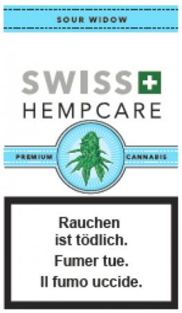 Swiss Hempcare Sour Widow CBD Hanfblüten Tabakersatz
