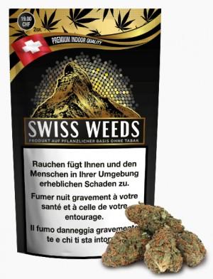 Swiss Weeds Gold CBD-Hanfblüten Tabakersatz