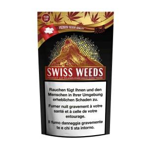 Swiss Weeds Red CBD-Hanfblüten Tabakersatz