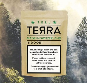 Terra Tell CBD-Hanfblüten Tabakersatz