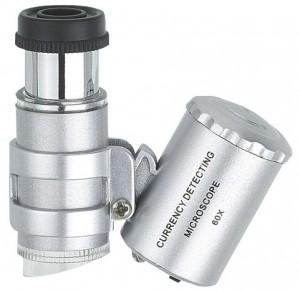 Trichome Mikroskop LED 60 fache Vergrösserung