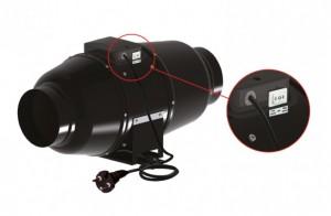 Ventilution Silent Line Rohrventilator 555m3/h