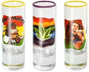 Wodka Shotglas
