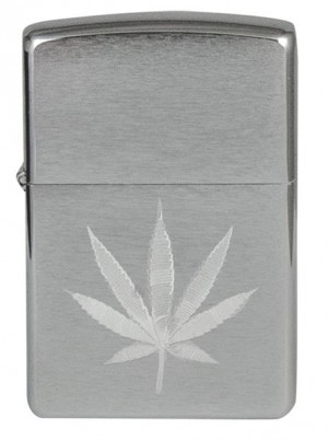 Zippo Hanfblatt Benzinfeuerzeug