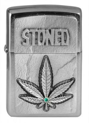 Zippo Stoned Benzinfeuerzeug