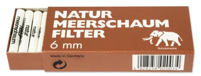 White Elephant Meerschaum-Filter Slim 45