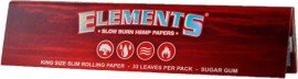 Elements Red - King Size Slim