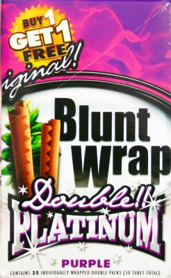 Blunt Wrap Platinum Purple