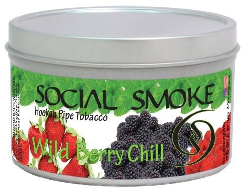 Social Smoke Wild Berry Chill