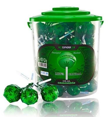 Euphoria Cannabis Lollipops