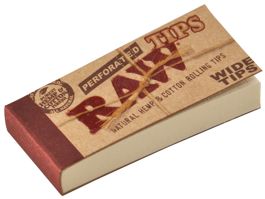 Raw Filter Wide Perforiert
