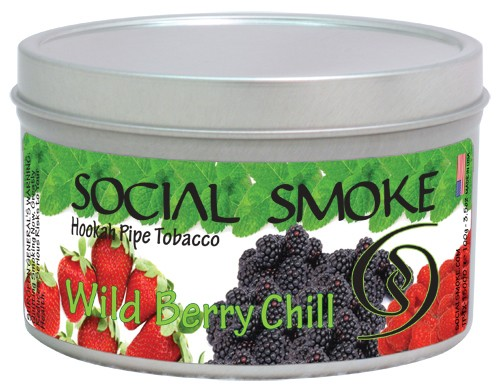 Social Smoke Wild Berry Chill
