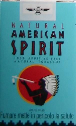 American Spirit Blau