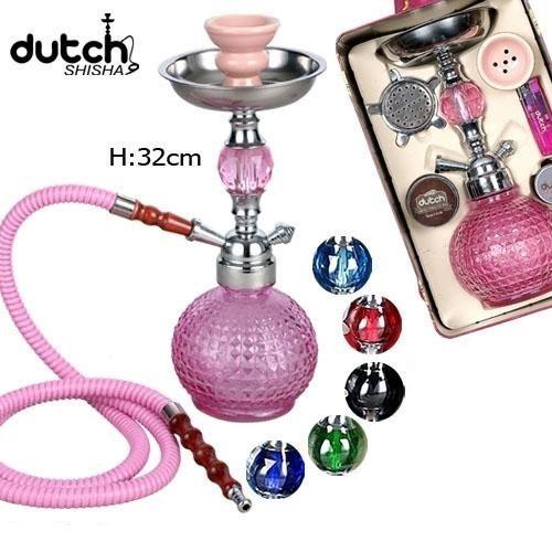 Dutch Shisha 32cm Crystal