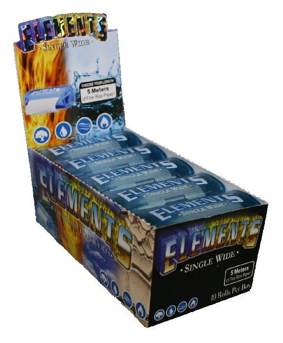 Elements Single Wide Papers Box