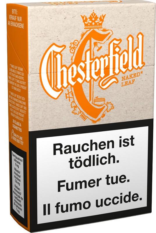 Chesterfield Unplugged Zigaretten