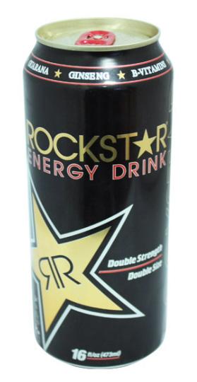 Dosenversteck Rockstar Energy Drink
