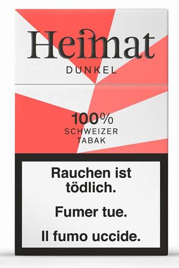 Heimat Dunkel Brune Zigaretten