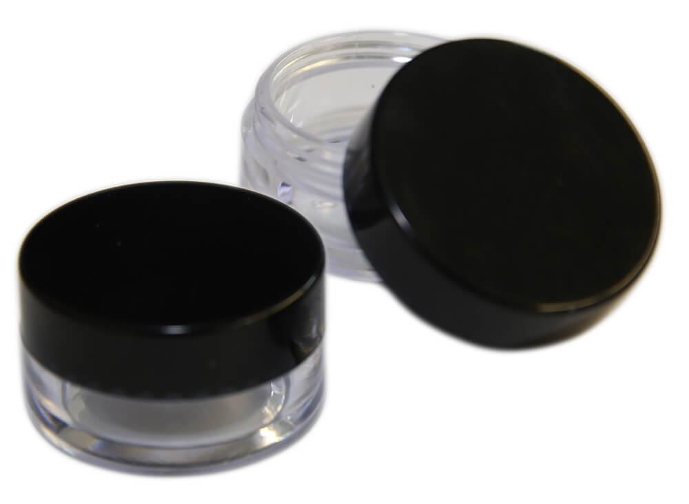 Kunststoff-Tiegel 5 ml, Aufbewahrungsdose