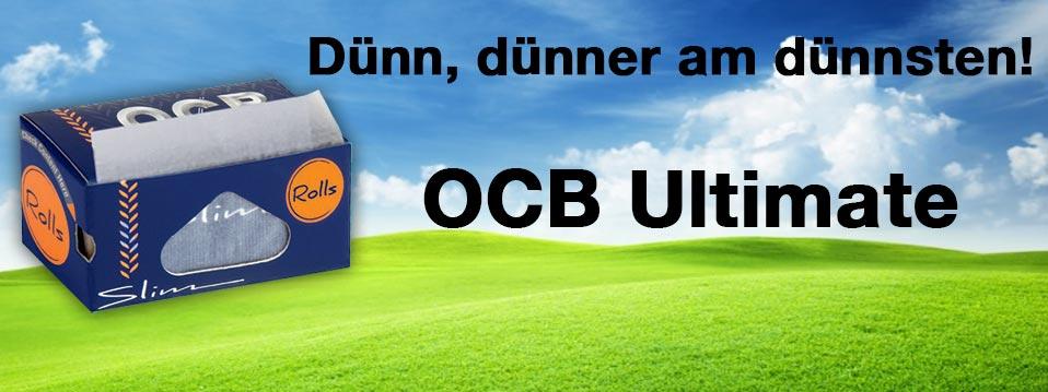 Dünn, dünner am dünnsten: OCB Ultimate Rolls!