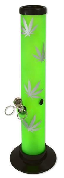 Acryl Bong Silver Leaf 32cm