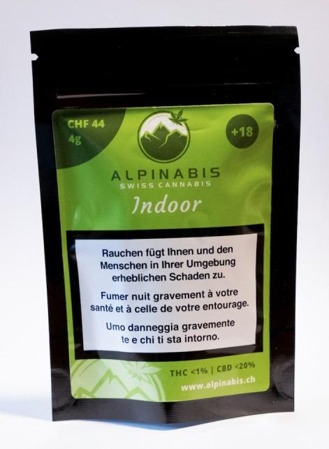 Alpinabis Indoor CBD-Hanfblüten