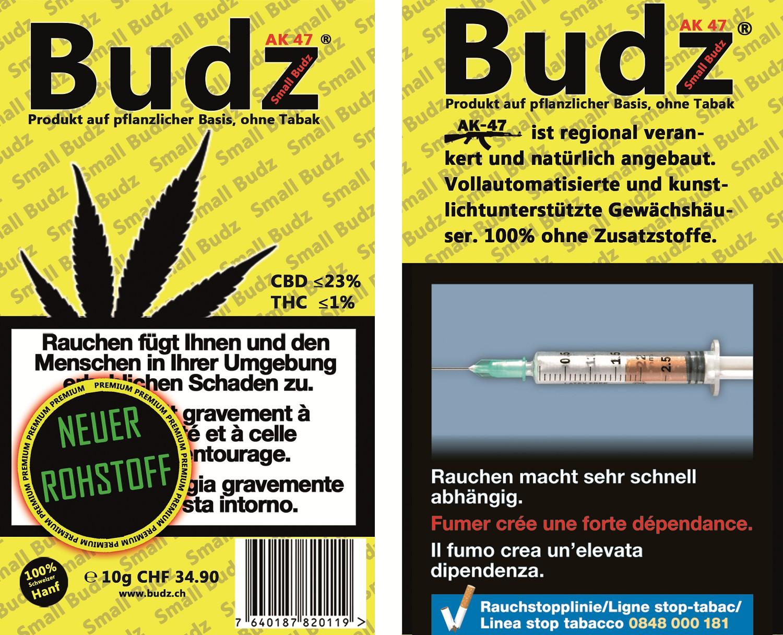 Budz AK 47 Small Budz Indoor Hanfblüten Tabakersatz