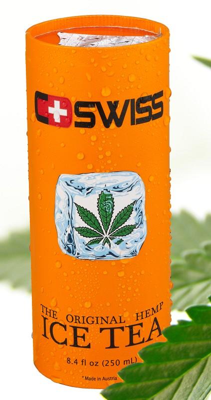 C-SWISS Cannabis Ice Tea