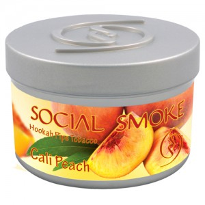 Social Smoke Cali Peach 250g