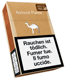 Camel Natural Flavor Filter Box