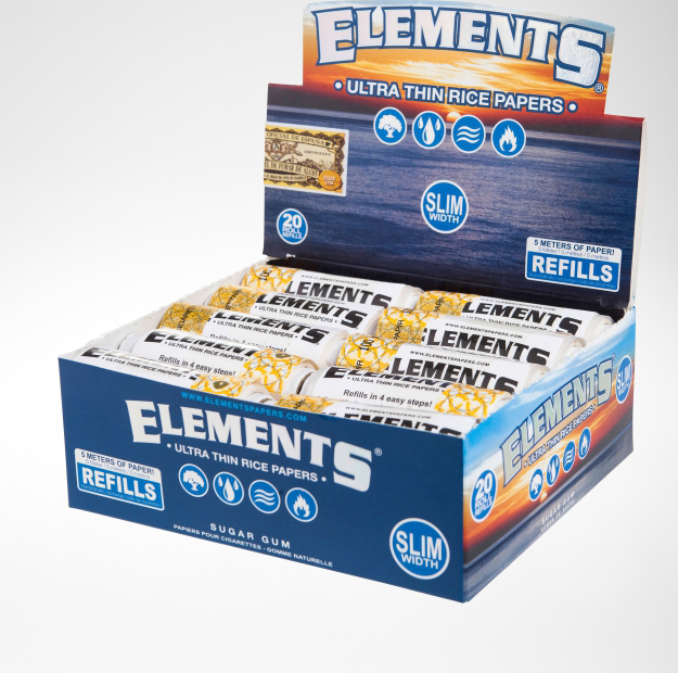 Elements Slim Papers Refills Box