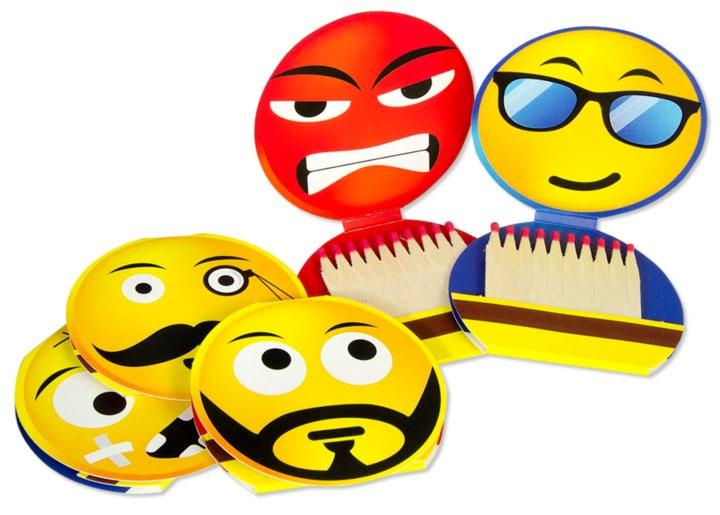 Fiammino Minerva Emoji Streichhölzer