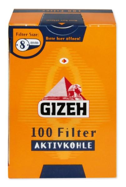 Gizeh Gelb Aktivkohlefilter 100