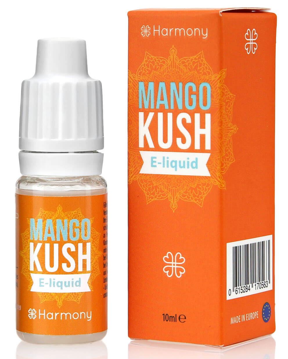 Harmony CBD-Liquid Mango Kush 10ml