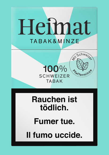Heimat Tabak & Minze Zigaretten