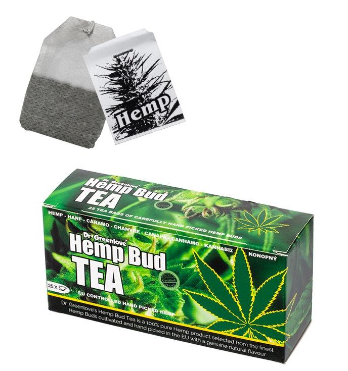 Dr. Greenlove Hemp Bud Tea